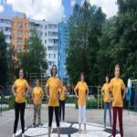 Участие в городской акции «Зарядка от нас – здоровье для вас!»